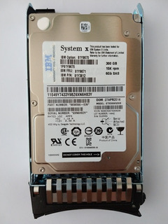 Disco Hd Ibm 6gb Sas 300gb Fru 81y9671 7200rpm