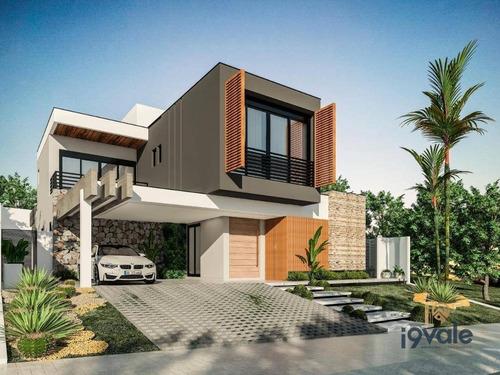 Casa À Venda, 342 M² Por R$ 2.250.000,00 - Condomínio Residencial Alphaville Ii - São José Dos Campos/sp - Ca1872