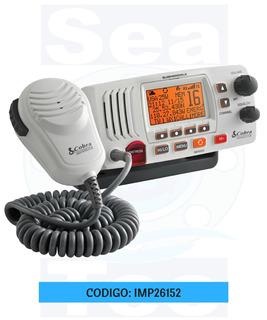 Radio Marino Cobra Sumergible Vhf Mr-f57-w/b (788226)