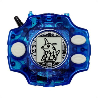 Digimon Digivice 15th Azul Metalgarurumon