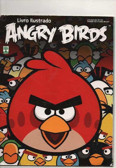 Angry Birds Livro Ilustrado Albuns 3 Revistas
