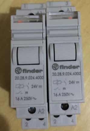 Rele Impulso Modular Finder 20.28.9.024.4000