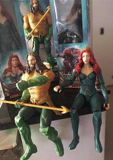 Muñeca Articulada Realista Mera, De Aquaman