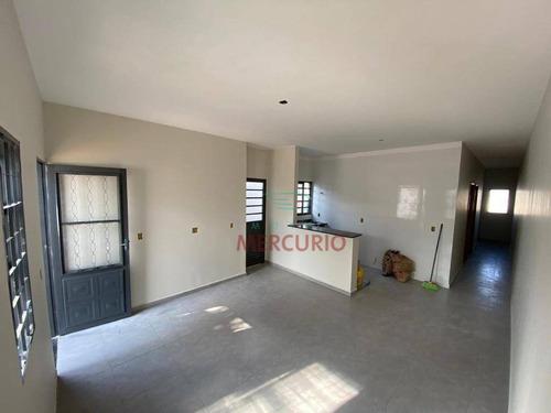 Casa Com 2 Dormitórios À Venda, 60 M² Por R$ 250.000,00 - Parque Santa Edwiges - Bauru/sp - Ca3214