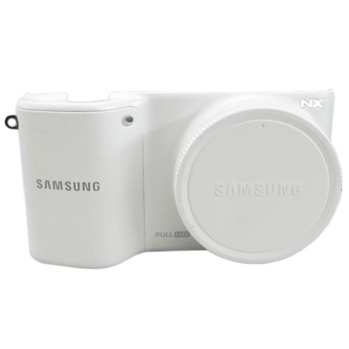 Frente Câmera Digital Samsung Com Placa Nx2000 Branca