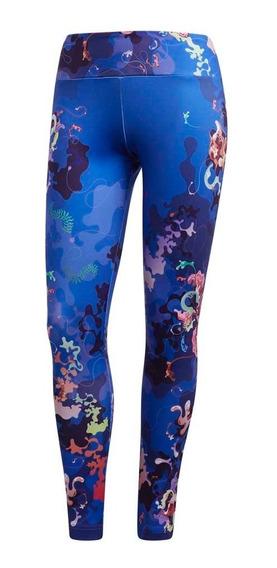 Calza Training adidas Graphic Mujer Az