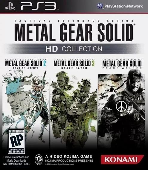 Metal Gear Solid Hd Collection Ps3 Mídia Digital Psn