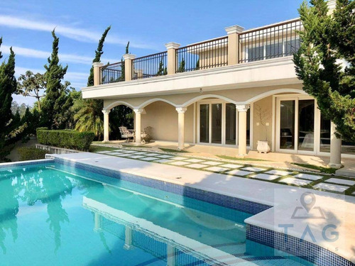 Casa Com 5 Dormitórios À Venda, 1200 M² Por R$ 6.800.000,00 - Arujá Country Club - Arujá/sp - Ca0203