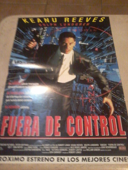 Fuera De Control!! Keannu Reeves Y Dolph Lungren!! Poster!!