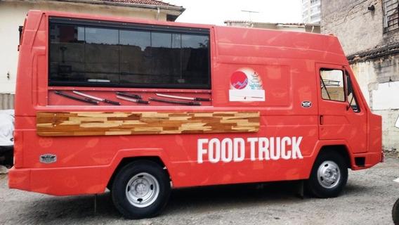Food Truck Agrale Furgovan 1989 Pronto Para Uso Oportunidade