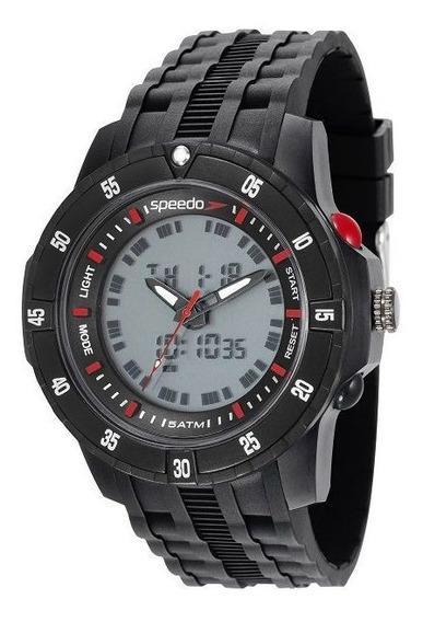 Relógio Speedo Masculino Digital 81127g0evnp5 E Nota Fiscal