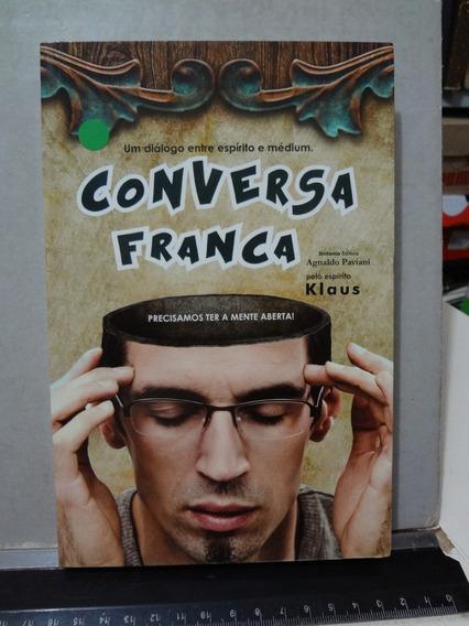 Livro Conversa Franca Agnaldo Paviani Pelo Espirito Klaus