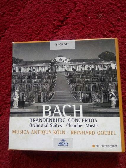 Bach Box Set 8 Cds Importado