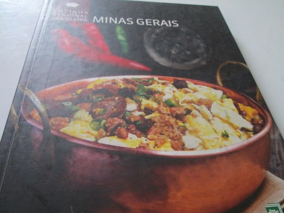 Livro Cozinha Regional Minas Gerais Vol.1 R.796