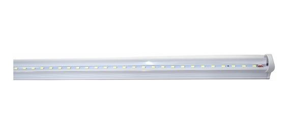 10 Lamparas Led Techo Tubo 18w T8 Aluminio Con Accesorios /e