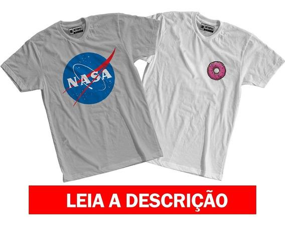 Kit Camisetas C 2 Tumblr Roupas Femininas Blusas Conjuntos