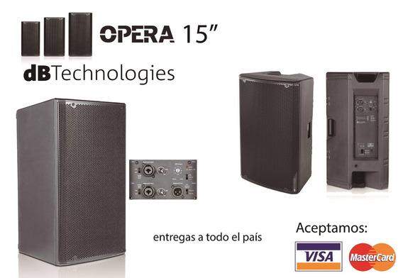 Cajas Activas Db Technologies - Opera 15 - Nuevas