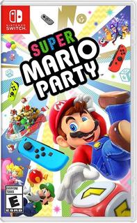 Super Mario Party Nintendo Switch Fisico Playking