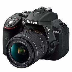 Câmera Nikon D5300 Full Hd Kit 18-55mm Profissional 24.2 Mp