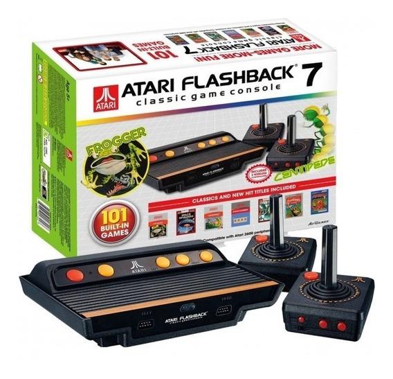Atari Flashback 7 Com 101 Jogos Classicos Controle Wifi Nf-e