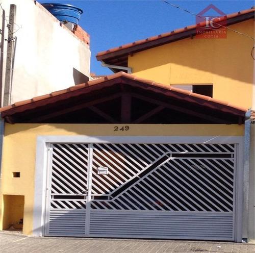 Casa Com 2 Dormitórios À Venda Por R$ 300.000,00 - Residencial Pastoreiro - Cotia/sp - Ca1167