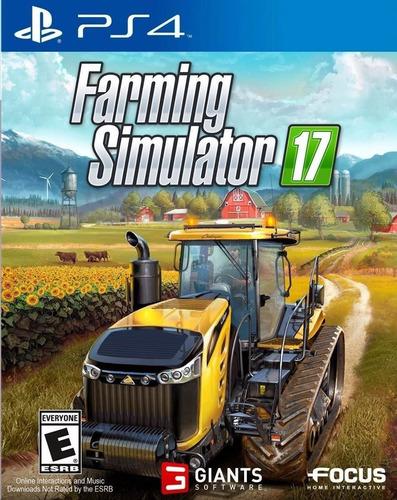 Farming Simulator 17 2017 Ps4 Original + Garantía + Español