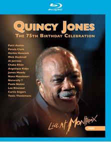 Dvd Blu-ray - Quincy Jones - The 75th Birthday Celebration