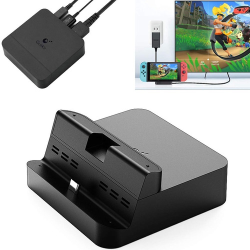 Dock Nintendo Switch Portatil Gulikit Mini Hdmi Carga Tv