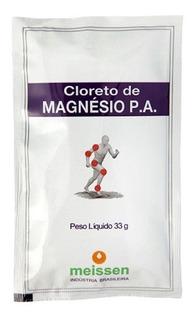 Kit 3 Cloreto De Magnésio P.a. - Sachê Em Pó - 33g - Meissen
