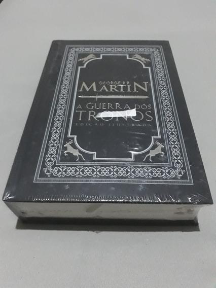 Livro A Guerra Dos Tronos Edição Ilustrada Capa Dura Lacrado