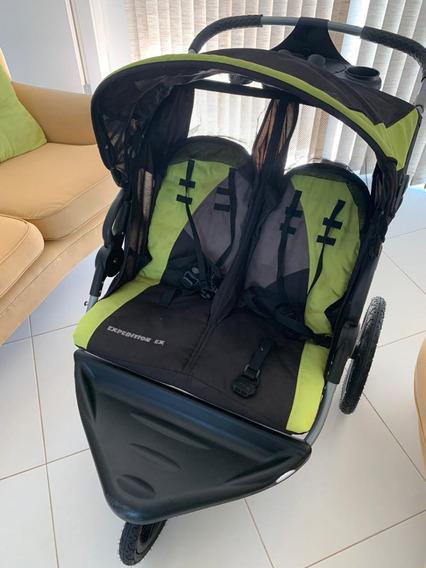 Carrinho Para Gêmeos Pouco Usado - Baby Trend Expedition Ex