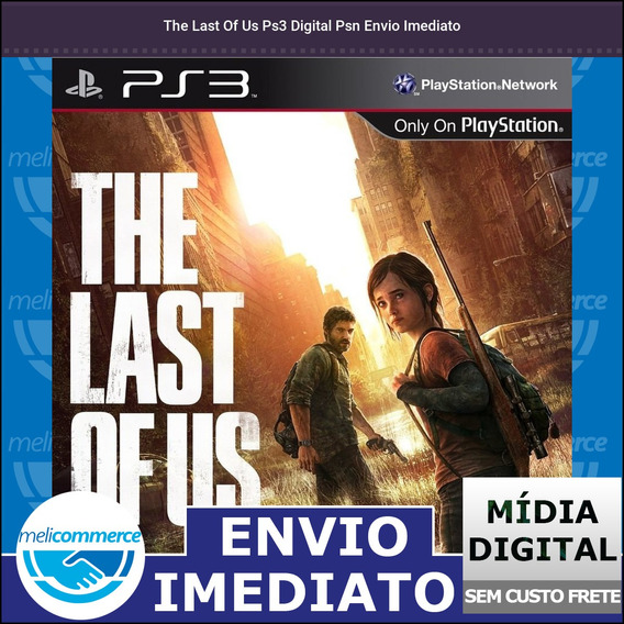 The Last Of Us Ps3 Digital Psn Envio Imediato