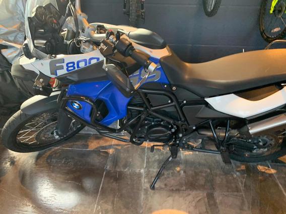 Moto Bmw F 800 Gs Trophy 2012 Azul