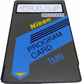 Cartão De Memoria De Programa Nikon Ap700 - Topografia