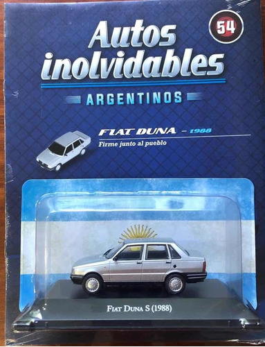 Inolvidables Fiat Duna En Burbuja Con Fascículo Leer