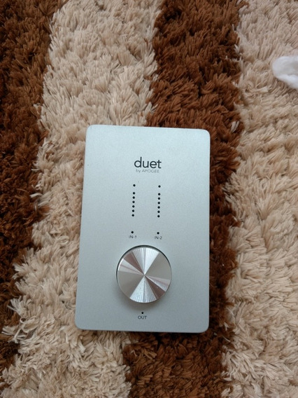 Interface De Audio Apogee Duet ( Macbook, Apollo, Focusrite)