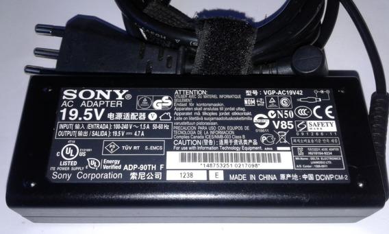 Carregador De Energia Notebook Sony Sve141l11x