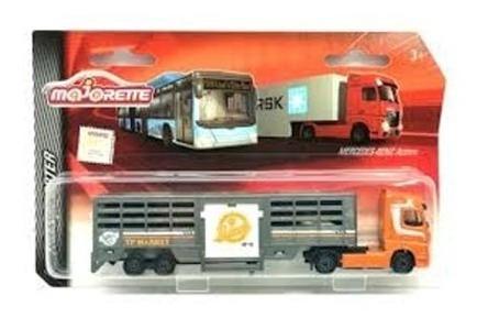 Camión Ganadero - Escala 1/87 Majorette Die - Cast