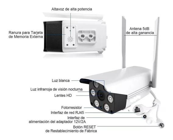 Camara Naxido Ip Wifi Y Cableada Exterior