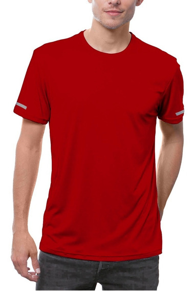 Playera Lisa Deportiva Gym Drifit Caballero National Style