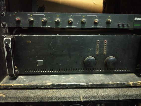 Amplificador Potencia M1000 Microligic..