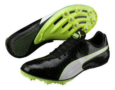 Zapatillas Con Clavos De Velocidad Puma Liquido !!