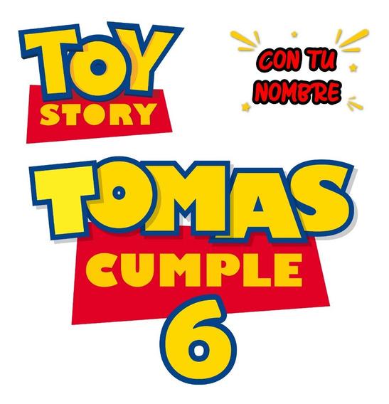 Toy Story | Logo Personalizado Y Etiquetas Imprimibles