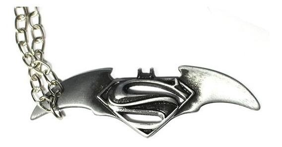 Colar Batman Vs Superman Filme Origem Da Justiça Chaveiro Dc