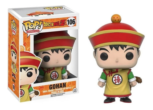 Funko Pop! Dragon Ball Z Gohan Original Wabro Cuotas