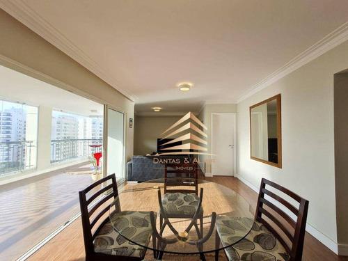 Imagem 1 de 30 de Apartamento No Condomínio Solon Vila Rosália, 137m², 3 Dormitórios, 1 Suíte, 2 Vagas, Vista Serra. - Ap1255
