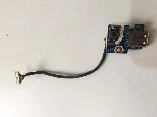 Imagem 1 de 3 de Placa Power Usb Notebook Samsung R440
