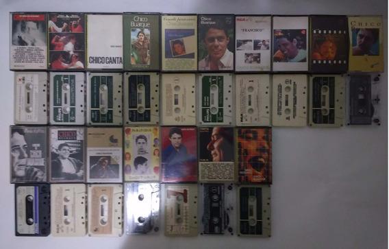 Coleção Chico Buarque Lote 17 Fitas K7