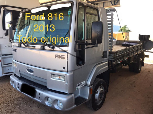 Ford Cargo 816 3/4 4x2 2013