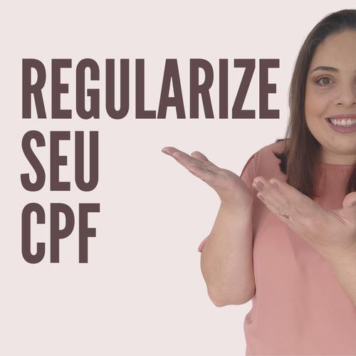 Imagem 1 de 1 de Regularização De Cpf